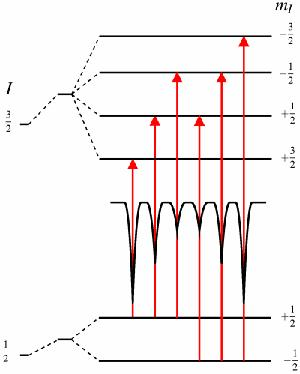 Magnetic dipole interaction