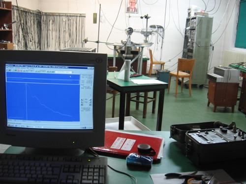 PAC measuring room